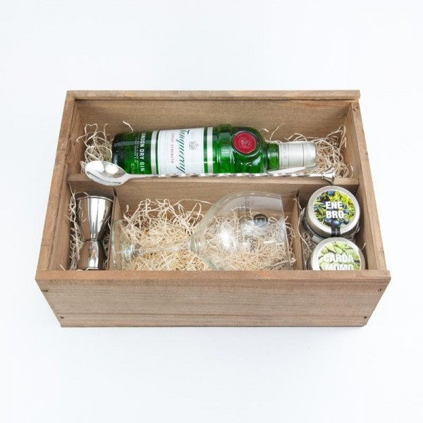 Pack de regalo de ginebra Tanqueray