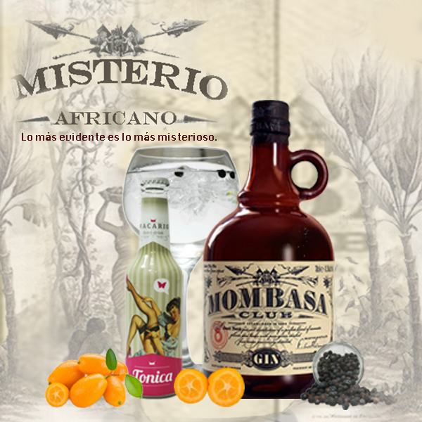 Misterio africano gin tonic