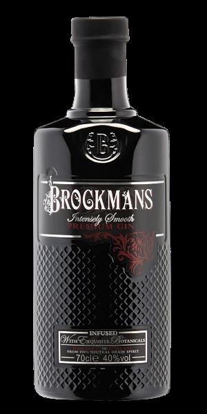 Ginebra Brockmans en botella negra personalizada