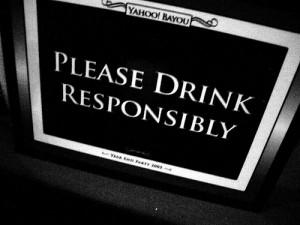 bebe con moderación