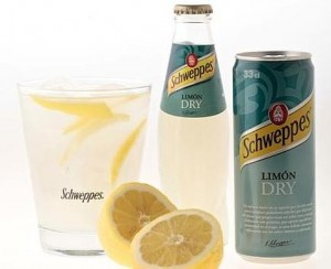 lemon dry schweppess