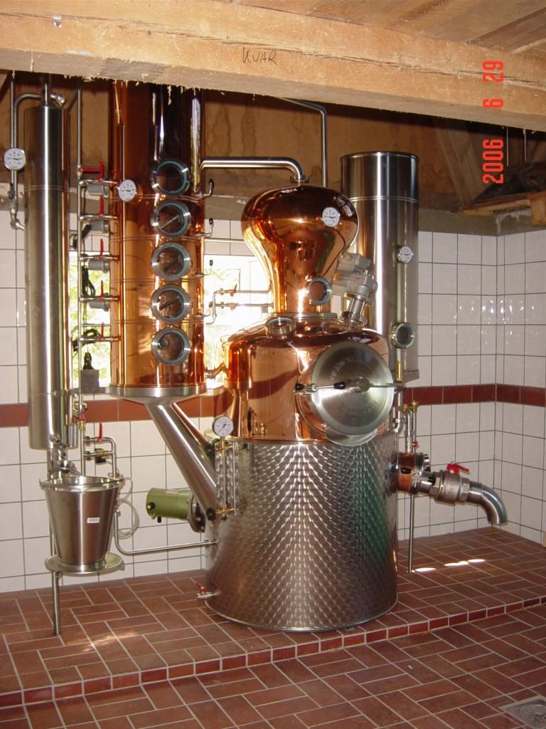 Alambique de wannborga gin