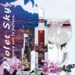 Gin Tonic perfecto Violet Sky, The Sting Gin con Abbondio Tonica