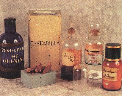 La Quinina ha sido empleada durante siglos como medicamento.