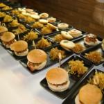 Hamburguesa para maridaje con gintonic en eventos