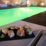 Sushi para maridaje con gintonic