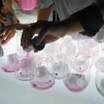 Elaboración de Gin tonic en cenas