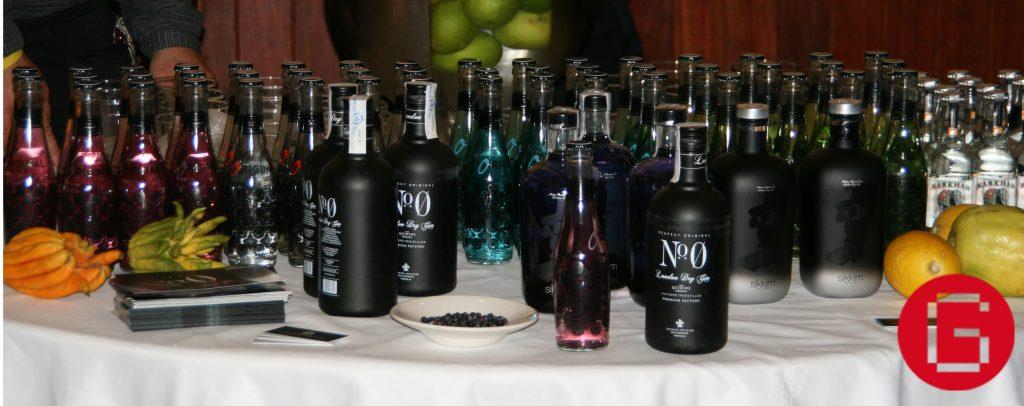 Barra de gin tonic premium para eventos